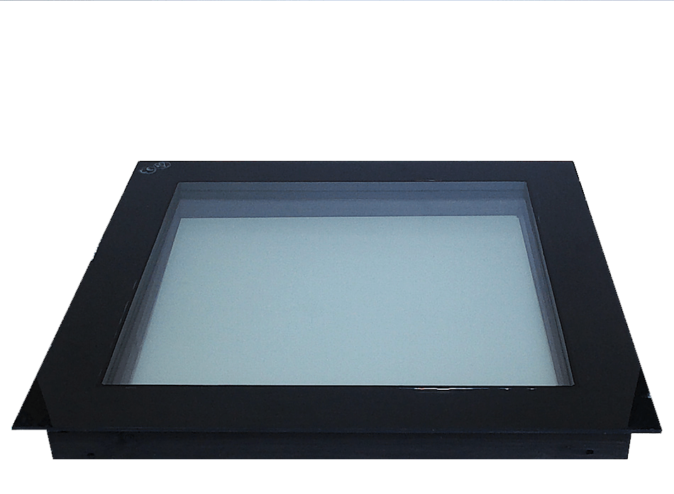 1000mm x 1000mm Triple Glazed Clear Skylight