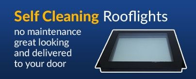 self cleaning rooflights