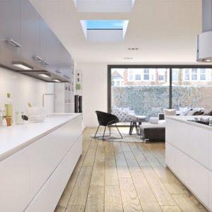 flat roof skylights